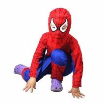Fantasia Infantil Do Homem Aranha Super-homem Frete Grátis
