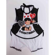 Conjunto Bebê Infantil Corinthians