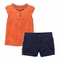 Conjunto Shorts E Camiseta Carter