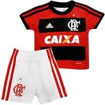 Conjunto Infantil Bebe Flamengo Adidas Original 2014
