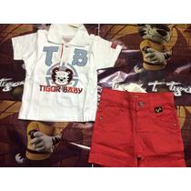 Conjunto Infantil Tigor T. Tigre Original Mb Frete Grátis