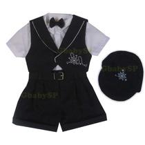 Conjunto Infantil Bebê Conjunto Marinheiro Tam 2 A 12 Meses