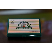 Mini Game Watch Nintendo Multiscreen Green House