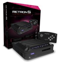 Video Game Retron 5 Cinza Novo Hyperkin 10 Em 1
