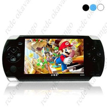 Video Game Portátil Mp3 Mp4 Mp5 Tipo Psp Com 10 Mil Jogos