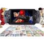 Video Game Portátil Pmp 10mil Jogos Player Mp3 Mp4 Mp5 C/cam