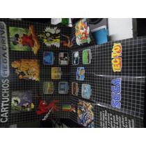 Catalogos De Jogos Original Mega Drive Tectoy(rasgado)