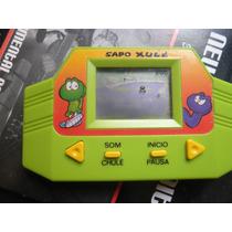 Mini Game Sapo Xulé Tec Toy Brasil Funcionando