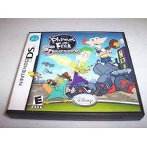 Caixa E Manual Nintendo Ds Phineas And Ferb Usada