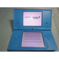 Nintendo Dsi Portátil + Fonte Carregador + 8gb De Brindes