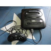 Console Mega Drive 3 Com 10 Jogos Classicos Memoria