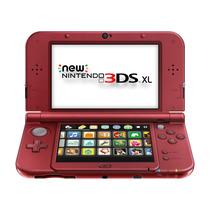 Console Novo Nintendo 3ds Xl Vermelho New Red
