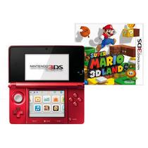 Nintendo 3ds Americano 3d + Super Mario 3d Land + Novo E Nfe