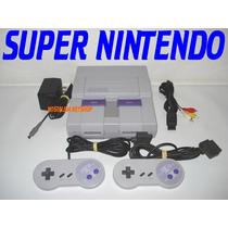 (( Super Nintendo )) Completo..2 Controles + Cabo + Fonte