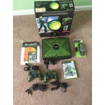 Xbox Halo Edition Na Caixa + Dvd Kit + Game