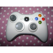 Controle Para Xbox 360 Wirelles, Joystick Branco