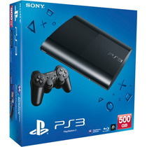 Playstation 3 500gb Slim + Cabo Hdmi 3d 1080p