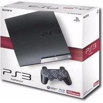 Playstation 3 Ps3 Play 3 Novo Destravado Cfw 4.66 + 10 Jogos