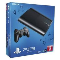 Playstation 3 Ps3 Super Slim 12 Gb - Novo. Entrega Motoboy