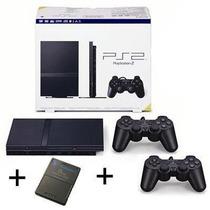 Playstation 2 Destravado 2 Controles Originais + Memory Card