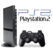 Playstation 2 Destravado +2 Controles + Memory Card + 5 Jogo