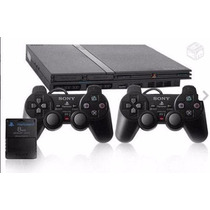 Playstation 2 + Controles + Memory Card + 20 Jogos!!!