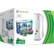 Xbox 360 Branco Edição Especial Skylanders + Novo E Nfe