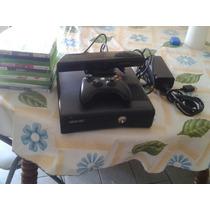 Xbox 360 Com Kinect 1controle 11 Jogos E Cabo Hdmi