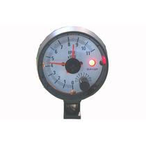 Contagiro Auto Gauge 3³/4 Ou 93 Mm Linha Silver 2302 Swb