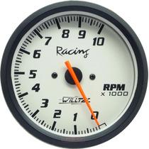 Contagiros 100mm Willtec Plus Rpm Tacômetro C/ Led Color
