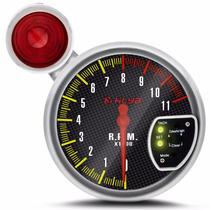 Velocímetro Conta Giro Rpm Automotivo Tuning Led 7 Cores
