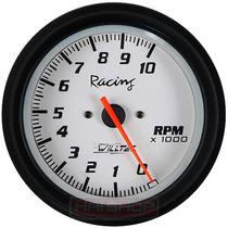 » Contagiros 100mm Willtec Plus Rpm Tacômetro C/ Led Neon «