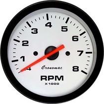 Contagiros 100mm 2 A 8 Cilindros 8.000 Rpm Led Cronomac