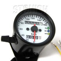 Velocimetro Universal Pequeno P/ Bobber - Cafe Racer -