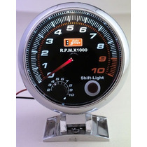 Auto Gauge Conta-giros 95mm 3 3/4 Pol. C/ Shift Light Intern