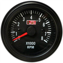 Auto Gauge Conta-giros 52mm Black Series