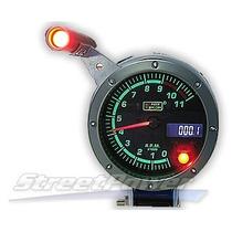 Auto Gauge Conta-giros 95mm 3 3/4 7 Cores C/ Shift Light Peq