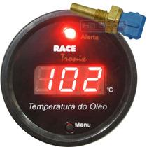 Medidor Temperatura Óleo Digital Vm Racetronix Motor +sensor