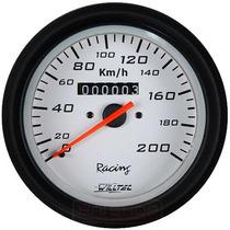 Velocímetro 100mm Willtec Fusca Buggy Bugre Gaiola 200km/h