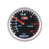Auto Gauge Pressão De Turbo 2 Bar 52mm Serie Smoke