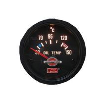 Auto Gauge Temperatura Do Oleo 52 Mm Black Serie