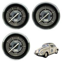 Manômetro Pressão Óleo Turbo Combustivel Fusca Cronomac