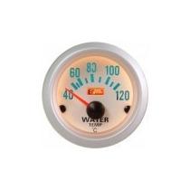 Auto Gauge Temperatura De Agua 52mm C/ Sensor Silver Serie