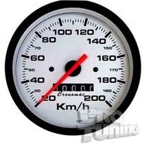 Velocímetro 100mm 200km Street Opala Chevette Cronomac