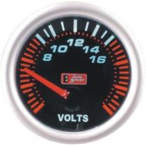Auto Gauge Voltimetro 52mm Serie Smoke