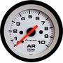 Manômetro Pressão Ar 10kg Street Branco Led Cronomac