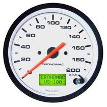 Velocímetro Eletronico Universal Street 100mm Cronomac