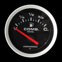 Indicador Combustivel Cronomac Sport 52mm Fusca Painel Bóia