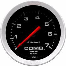 Pressão Combustível 7 Kg Cronomac Sport 52mm Manômetro Bomba
