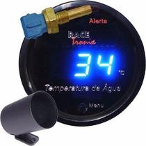 Medidor Temperatura Água Digital Racetronix Led Azul + Copo